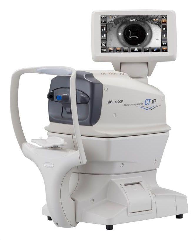 tonometro de aire no contacto oftalmologia equipo oftalmologico topcon tonómetro