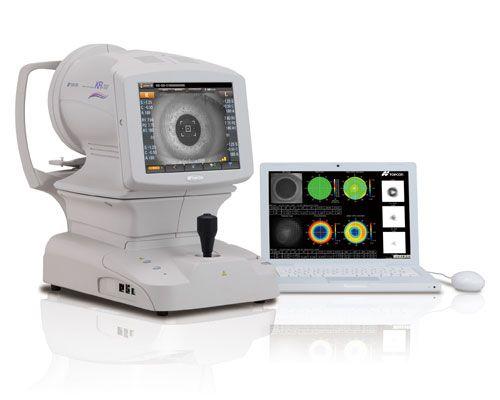analizador de vision refractometro equipo oftalmologia aberrómetro