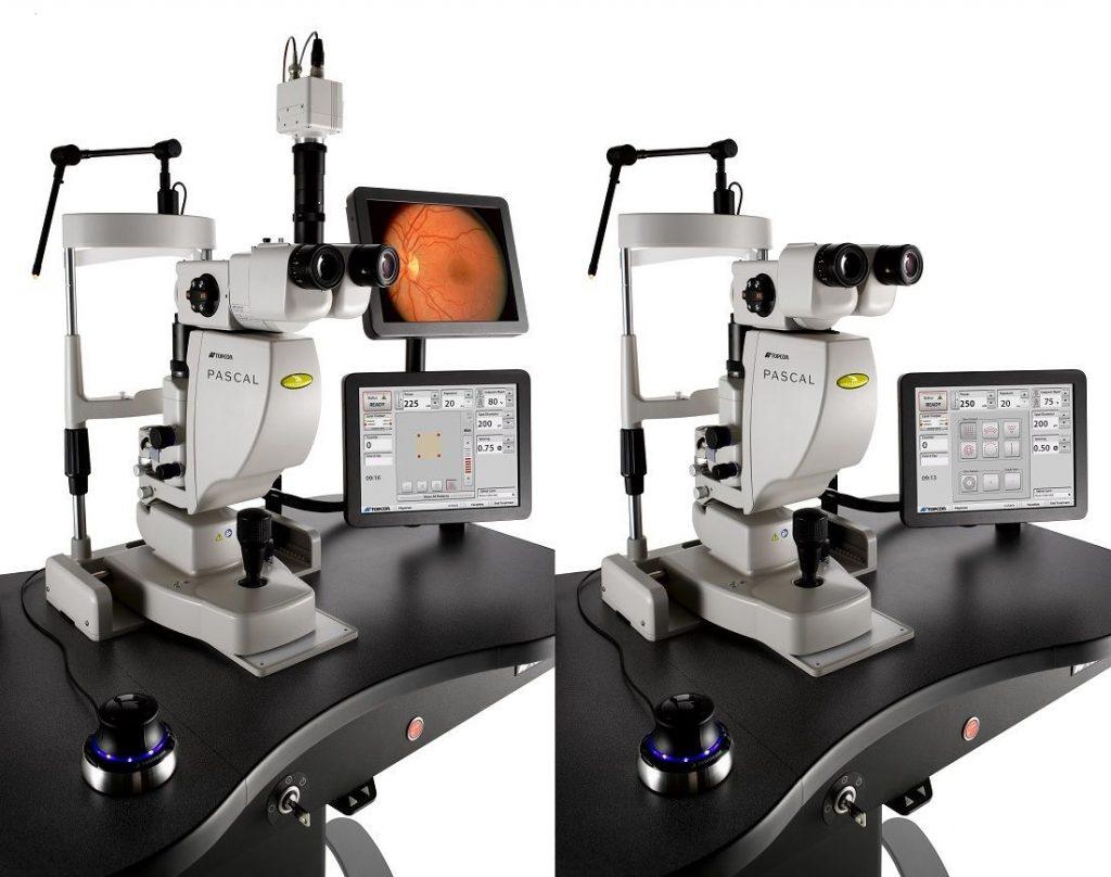 laser pascal synthesis fotocoagulador laser oftalmológico