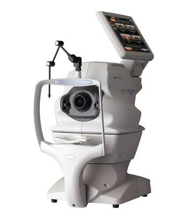 tomografo de coherencia optica oftalmologia Topcon Angio OCT