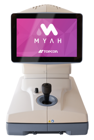 myah control miopia ojo seco topografo corneal