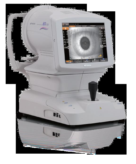 aberrometro topografo refractometro kr-1w topcon